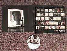 CLOSER original issue movie CD presskit