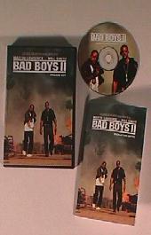 BAD BOYS II original issue movie CD presskit