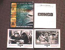 CONGO original issue movie presskit