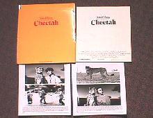 CHEETAH original issue movie presskit