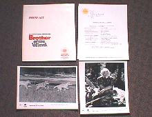 BROTHER OF THE WIND original issue movie presskit