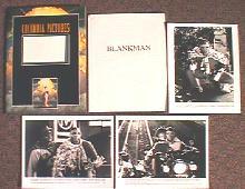 BLANKMAN original issue movie presskit