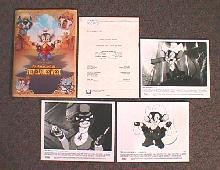 AN AMERICAN TAIL-FIEVEL GOES WEST original issue movie presskit