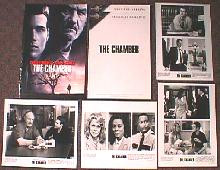 CHAMBER, THE original issue movie presskit