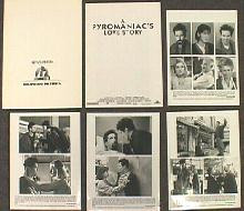 A PYROMANIAC'S LOVE STORY original issue movie presskit