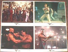 STREET FIGHTER original issue 11x14 lobby card set