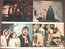 STAR WARS original 1977 issue 11x14 lobby card set