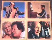 SHINE original issue 11x14 lobby card set