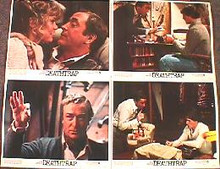 DEATHTRAP original issue 11x14 lobby card set
