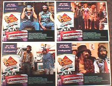 CHEECH & CHONG'S NEXT MOVIE original issue 11x14 lobby card set