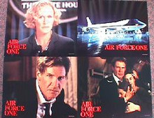 AIR FORCE ONE original issue 11x14 lobby card set