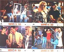 WAYNE'S WORLD original issue 8x10 British lobby card set