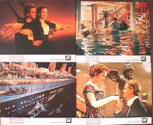 TITANIC original issue 8x10 Bristish lobby card set