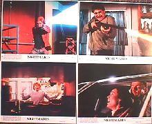 NIGHTMARES original issue 8x10 lobby card set