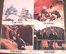 GERONIMO original issue  8x10 lobby card set