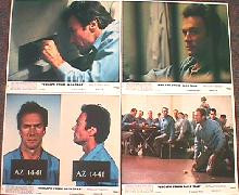 ESCAPE FROM ALCATRAZ original issue 8x10 lobby card set