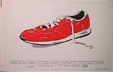 MAN WITH ONE RED SHOE original issue 22x28 rolled movie poster