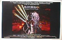 KRULL original issue 22x28 rolled movie poster