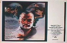 ISLANDS IN THE STREAM original issue 22x28 rolled movie poster