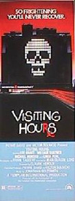 VISITING HOURS original issue 14x36 rolled movie poster