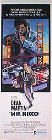 MR. RICCO original issue 14x36 rolled movie poster