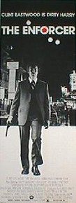 ENFORCER,THE original issue 14x36 rolled movie poster