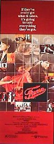 FAME original issue 14x36 rolled movie poster