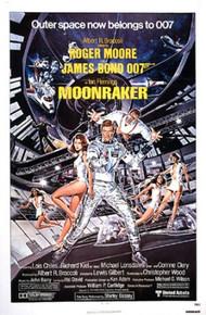 MOONRAKER original 1979 folded 1-sheet movie poster