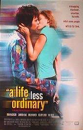 A LIFE LESS ORDINARY original issue rolled 1-sheet movie poster