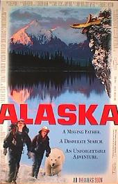 ALASKA original issue rolled double sided 1-sheet movie poster