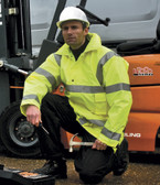 Work Guard Hi-Vis Safety Jacket