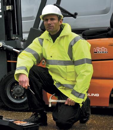 Work Guard Hi-Vis Safety Jacket