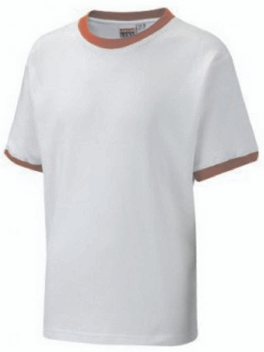 The White T-Shirt With Red Trim