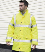 Result Core Hi-Vis Motorway Coat (RS218)