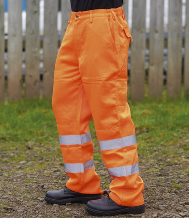 Warrior Delray Hi-Vis Trousers (WR015)