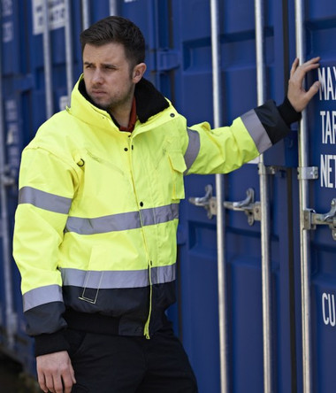 Portwest 3-in-1 Hi-Vis Bomber Jacket (PW013)