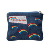 Rainbows Denim Purse