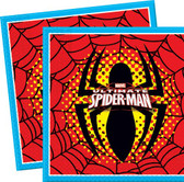 Ultimate Spiderman Napkins - 20 Pack