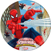 Ultimate Spiderman Paper Plates 23cm - 8 Pack