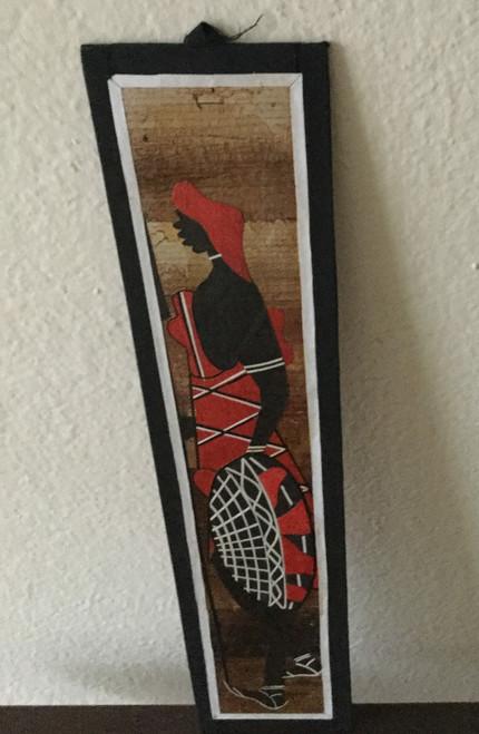 Maasai Moran with shield