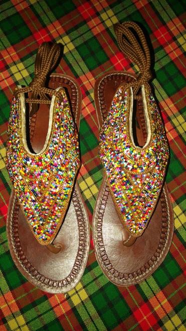 Glittery sandals