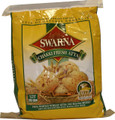 Swarna Brand Chakki Fresh Atta is made from 100% whole wheat atta, with NO maida mixed.  The Swarna Chakki Fresh Atta Story: First, the world's finest, healthy wheat arrives at the mill. Next, every grain undergoes several cleaning processes in our advanced cleaning machines. Since it remains untouched by human hands, it is 100% natural and hygenic. Once the grains are 100% clean, they are sent to themodern, gentle stone-grinding mill. Gentle grinding ensures that the flour (atta) stays fresh and the vitamins and proteins present in the wheat are preserved. The stone-ground, wholemeal atta is then packed in high-quality, hygienic packs. The result is Swarna Chakki Fresh Atta. A superior quality flour that absorbs more water than you knead it. So, the rotis puff and will remain soft even hours later! Ingredients: Superior wholemeal wheat flour. Contains NO artificial additives.
