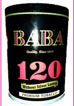 Baba 120 Premium tobacco without silver leaves
