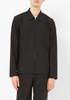 L'Homme Rouge 2nd Layer Black Wool Shirt Jacket