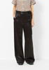 Tibi Side Tie Satin Pant