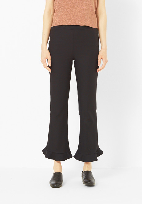 Opening Ceremony Black Circle Hem Pants