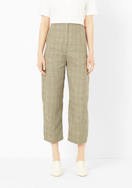 Creatures of Comfort Herringbone Linen Crescent Pant