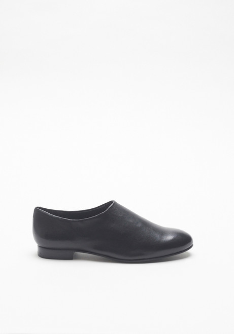 Opening Ceremony Black Leather Charly Slip