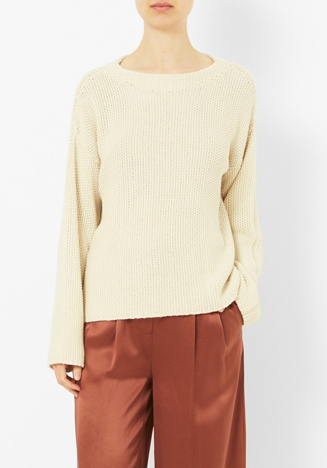 Micaela Greg Cream Seed Sweater