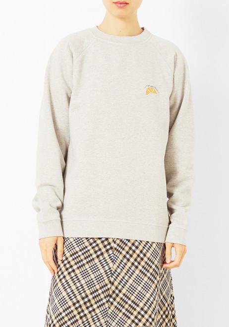 Ganni Croissant Sweatshirt